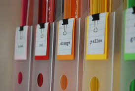 organize small office. Color Filing Organize Small Office