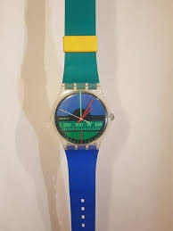 swatch large plastic wall clock 210