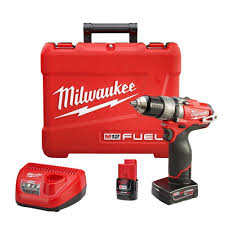 milwaukee m12 logo. milwaukee m12 fuel 12-volt cordless brushless 1/2 in. hammer drill and driver kit-2404-22 - the home depot logo