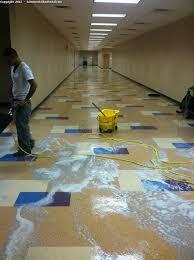 vinyl composition tile vct floor cleaning