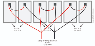 the difference between series and parallel circuits solarloco wiring solar panels combination series and parallel