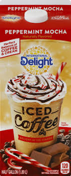 International delight iced coffee mocha 64 oz pack of 3 brand: International Delight Peppermint Mocha Iced Coffee Hy Vee Aisles Online Grocery Shopping