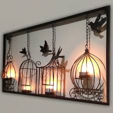 3d metal wall art decor