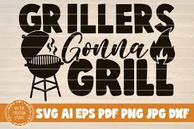 These are digital cut or print files. 42 Funny Grill Bundle Designs Graphics