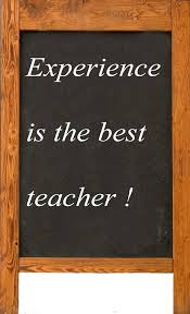 more than my diagnosis experience is the best teacher  experience is the best teacher