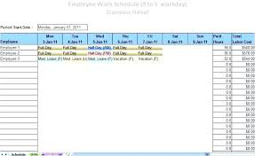 Employee Attendance Tracker Template Awesome Free Printable