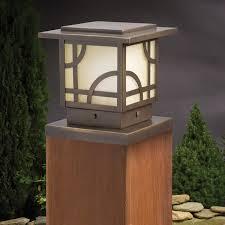 Decorative Metal Porch Posts Deck Post Cap Lights Solar Led Low Voltage Decksdirectcom