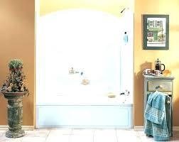 one piece bathtub and surround one piece bathtub surround one piece tub wall kit white one