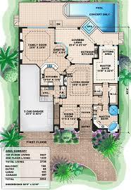 mediterranean house plans. Contemporary House Floor Plan For Mediterranean House Plans O