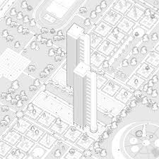 Система поддержки для города Реконструкция города Магнитогорск Дипломный проект Михаила Князева Аксонометрия