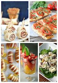 Find some easy recipes for party finger foods to make party menu planning a breeze for your next gathering, regardless of the theme. 25 Graduation Party Ideas Real Housemoms