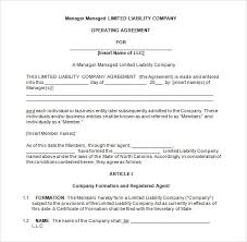 template for llc operating agreement llc partnership agreement template free member managed llc operating