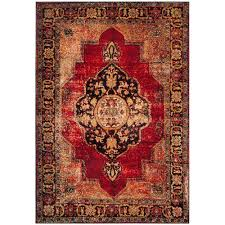 this review is from vintage hamadan red multi 7 ft x 9 ft area rug
