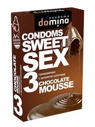 Презервативы <b>DOMINO</b> SWEET SEX <b>Chocolate</b> mousse <b>DOMINO</b> ...