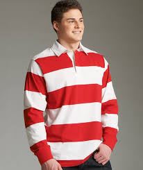 charles river 9278 classic rugby shirt 35 44 men s fleece