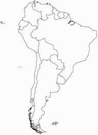 Blank Latin America Map Blueappleinc Com