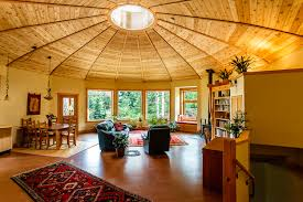a firsthand look at the magnolia 2300 yurt the first energy star home in british columbia