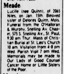 Quinn, Lucille Meade obit1979 - Newspapers.com