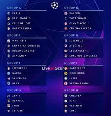 Wann wird die gruppenphase der uefa champions league ausgelost? Auslosungsergebnisse Der Gruppenphase Der Uefa Champions League