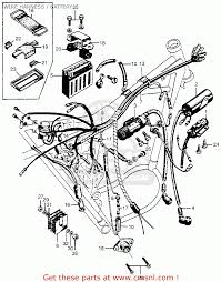 honda cl scrambler usa wire harness battery wire harness battery schematic