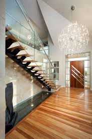 contemporary entry large chandelier modern design