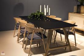 elegant dark wood dining table set 18 100771