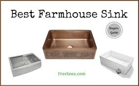 farmhouse sink reviews. Best Farmhouse Sink Reviews Of 2018 With