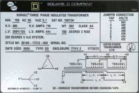 square d transformer wiring diagram square wiring diagrams online square d 150t3h 150 kva 480 volt delta to 208y 120 v 3ph