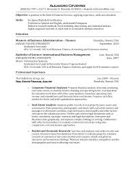 resume us version tour guide resume