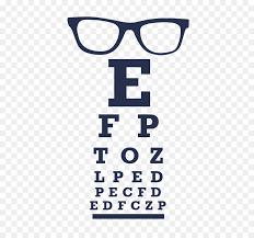 Eye Chart Poster Free Eye Symbol Png Download 516 826 Free Transparent Glasses