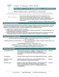 New Graduate Nurse Resume – Xpopblog.com