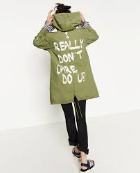 Image result for i don't care melania jacket