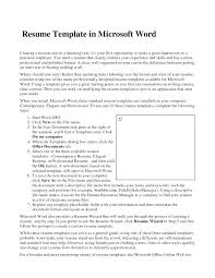 Resume Templates Word 2003 Fascinating Resume Template Word Lovely Templates 48 Samples On 48 Free