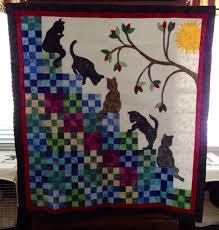 My version of stairway to cat heaven | My Finished Quilts ... & My version of stairway to cat heaven Adamdwight.com