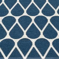 pappelina otis large rug ocean blue