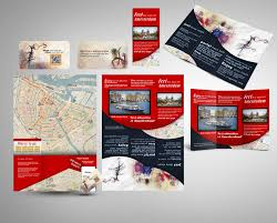 Hotel Brochure Designs Entry 16 By Mamem For Create City Map Brochure Design For