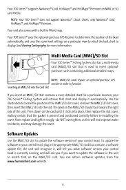 Mmc Charts Multi Media Card Mmc Sd Slot Software Updates