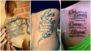 шрифты для тату 100 фото идей виды особенности правила выбора