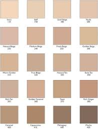 Bourjois Foundation Shade Chart Pin By Soofia Sheikh On Contour Conceal In 2019 Revlon
