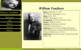 william faulkner is a giant essay term paper help william faulkner is a giant essay ""