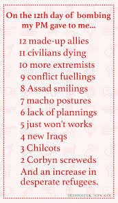 The 12 Days Of Bombing Syria