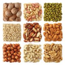 Calories In Nuts Chart Which Are The Lowest Calorie