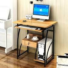 elegant tall computer desk for home design alluring quality office high desktop table uk