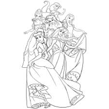 Choose your favorite coloring page and color it in bright colors. Top 25 Disney Princess Coloring Pages For Your Little Girl