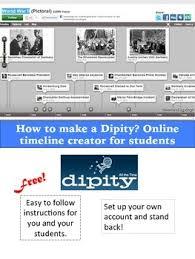 Online Timeline Creator Free Dipity Online Timeline Creator