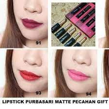 re purbasari lip color matte no 93