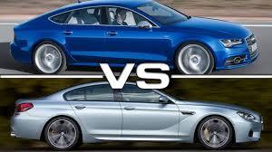 2015 Audi S7 vs 2015 BMW M6 Gran Coupe - YouTube