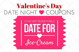 Make Coupons Valentines Date Night Idea Printable Coupons Real Housemoms