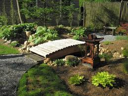 Small Picture A Small Bridge For The Garden Outdoors Decoration Pond With Bridge
