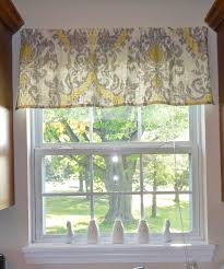Innovative Easy Kitchen Window Treatments Tutorial For Making A Simple Rod  Pocket Valance For The Home